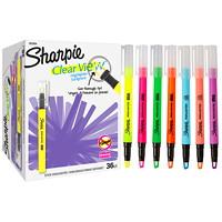 Surligneurs couleurs variées Clear View Sharpie