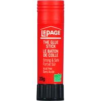 LePage Acid-Free Washable Glue Stick, Clear, 20 g