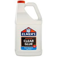Elmer's Washable Clear School Glue, 3.78 L