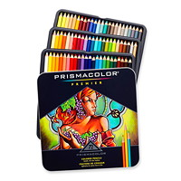 Prismacolor Premier Coloured Pencils, Soft Core, Assorted Colours, 72/Pk
