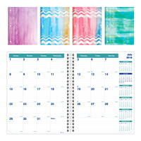 Blueline Academic  Monthly Planner, Watercolour Designs, 11