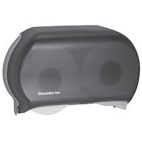 Cascades PRO Universal Jumbo Bath Tissue Dispenser, Double Roll, 9