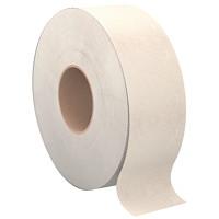 Rouleaux de papier hygiénique géants Cascades PRO Perform, brun moka, caisse de 12