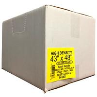 Sacs à ordures transparents de densité régulière 43po x 48po Eco II Manufacturing Inc.