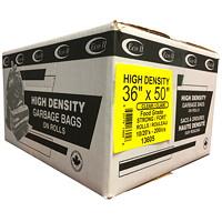 Sacs à ordures transparents robustes 36po x 50po Eco II Manufacturing Inc.
