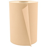 Cascades PRO Select 1-Ply Universal Hand Paper Towel, Natural, 600', 12/CT