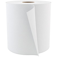 Cascades PRO Select 1-Ply Universal Hand Paper Towels, White, 800', 6/CS