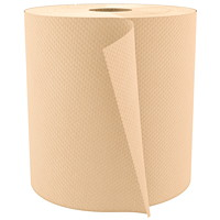 Cascades PRO Select 1-Ply Universal Hand Paper Towels, Natural, 800', 6/CS