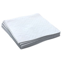 Cascades PRO Select 1-Ply 1/4 Fold Beverage Napkins, White, 1,000 Sheets/BX