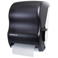 Distributeur universel d'essuie-mains en rouleau avec levier Cascades PRO, noir