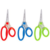Westcott X-Ray Kids antimicrobial Ultrasoft Handle Scissors, Assorted Colours (No Colour Choice on Delivered Orders), 5