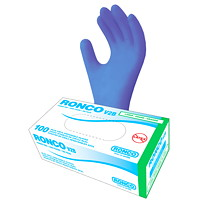 Ronco V2B Large Vinyl Disposable Powder-Free Gloves