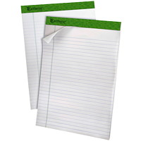 Ampad Earthwise Recycled Writing Pads, 8 1/2