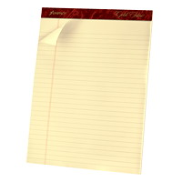 Ampad Gold Fibre Writing Pad, 8 1/2