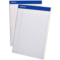 Ampad Wide Ruled Writing Pad, Letter Size (8 1/2