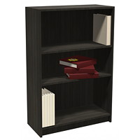 HDL 3-Shelf Grey Dusk Bookcase