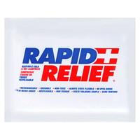 Compresse gel chaude/froide réutilisable Rapid Relief, 4po x 6po
