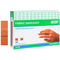 SAFECROSS Flexible Heavyweight Fabric Bandages, 7/8