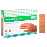 SAFECROSS Flexible Lightweight Fabric Bandages, 7/8