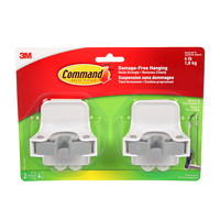 Command Broom Grippers, 2/PK