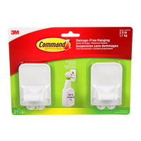 Command Spray Bottle Hangers, 2/PK