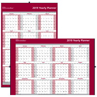Brownline Oversized Yearly Wall Calendar, 32