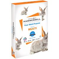 Papier à usages multiples Fore Hammermill, certifié FSC, 20 lb, 11po x 17po, caisse