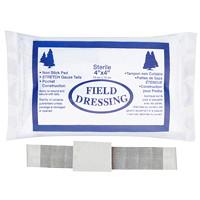 Pansement compressif avec bandage de gaze SAFECROSS First Aid, 4po x 4po