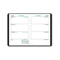Quo Vadis Sapa X Weekly Planner, 3 1/2