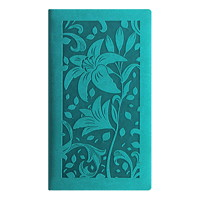 Letts Blossom Weekly Pocket Planner, 3 1/8