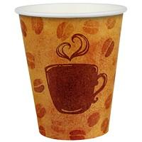 Gobelets à paroi simple pour boissons chaudes et froides Café Express, 10oz, emb. de 100