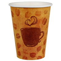 Café Express Single Wall Hot/Cold Beverage Cups, 12 oz, 100/Pk