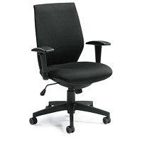 Offices to Go VOS Black High-Back Tilter Chair