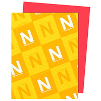 Neenah Astrobrights Rocket Red Paper, Letter-Size, FSC And Green Seal Certified, 24 lb., Ream