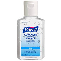Purell Advanced Gel Hand Sanitizer, 70% Alcohol Content, 59 mL, 24/CS