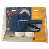 Avery Model 216 2-Line Mechanical Handheld Labeler Starter Kit