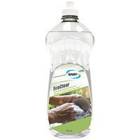 Sany+ ECOCLEAR Scent Free Dishwashing Liquid, 740 mL