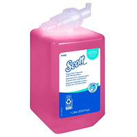 Scott Foam Skin Cleanser Hand Soap Refills with Moisturizers, 1L, 6/CT