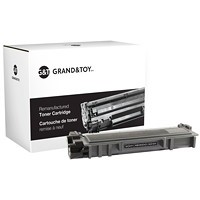 Grand & Toy Remanufactured Black Standard Yield Toner Cartridge (alternative for Brother: TN630)