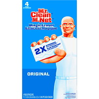 Mr. Clean Original Magic Eraser Cleaning Pads, 4/Pk