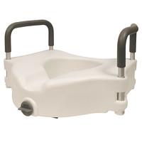 Siège de toilette élevée avec poignées BIOS Living