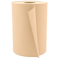 Cascades PRO Select 1-Ply Universal Hand Paper Towel, Natural, 350', 12/CT