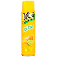 Endust Multi-Surface Dusting and Cleaning Aerosol Spray, Citrus Scent, 284 g