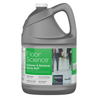 Diversey Floor Science Cleaner And Restorer Spray Buff, 3.78 L, RTU