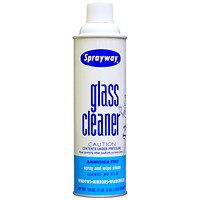 Sprayway Glass Cleaner, Aerosol Spray, 539 g