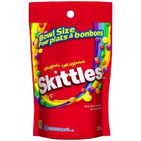 Bonbons Skittles, saveurs originales, emb. grand format de 320g pour bol à bonbons