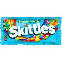 Bonbons à saveurs de fruits tropicaux Skittles, 61 g, boîte de 36