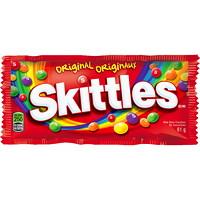 Bonbons à saveur de fruits originaux Skittles, 61 g, boîte de 36