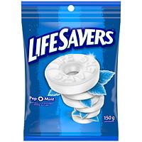 Bonbons durs à la menthe Pep-O-Mint LifeSavers, 150g