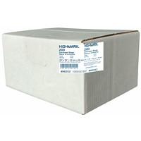 Sacs à ordures industriels HighMark, transparent, 30po x 38po, robuste, caisse de 200